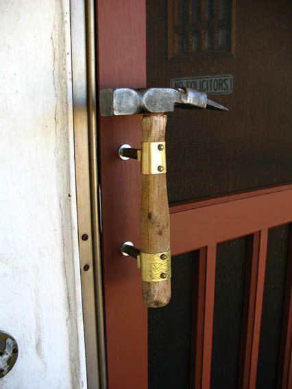 Дверная ручка и пизда