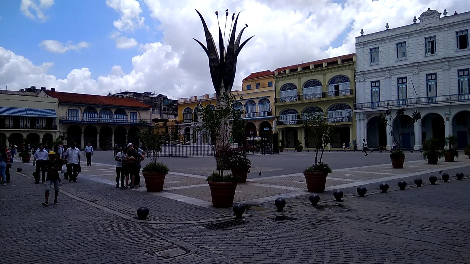 Обои куба, havana, ночь, Old Havana, Гавана. Города