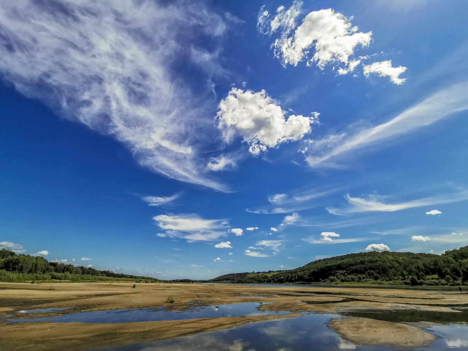Обои Облака, необыкновенно, Пейзаж, яркие тона. Природа foto 11