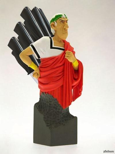 Гай Юлий Цезарь, подставка для карандашей