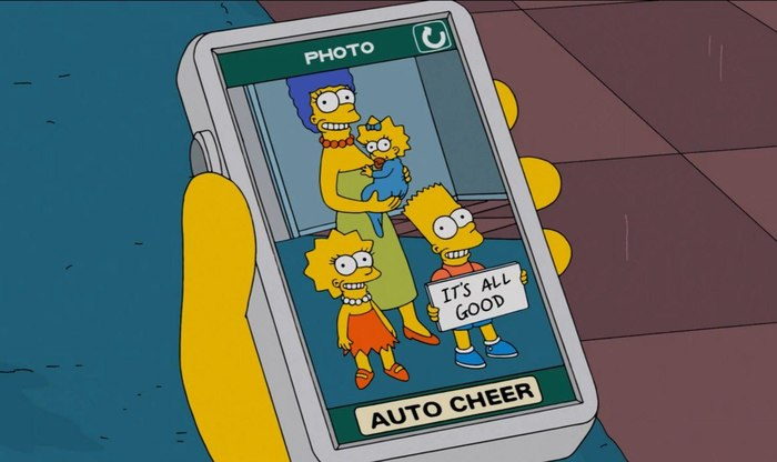 FaceApp в Симпсонах Симпсоны, Пророчество, FaceApp