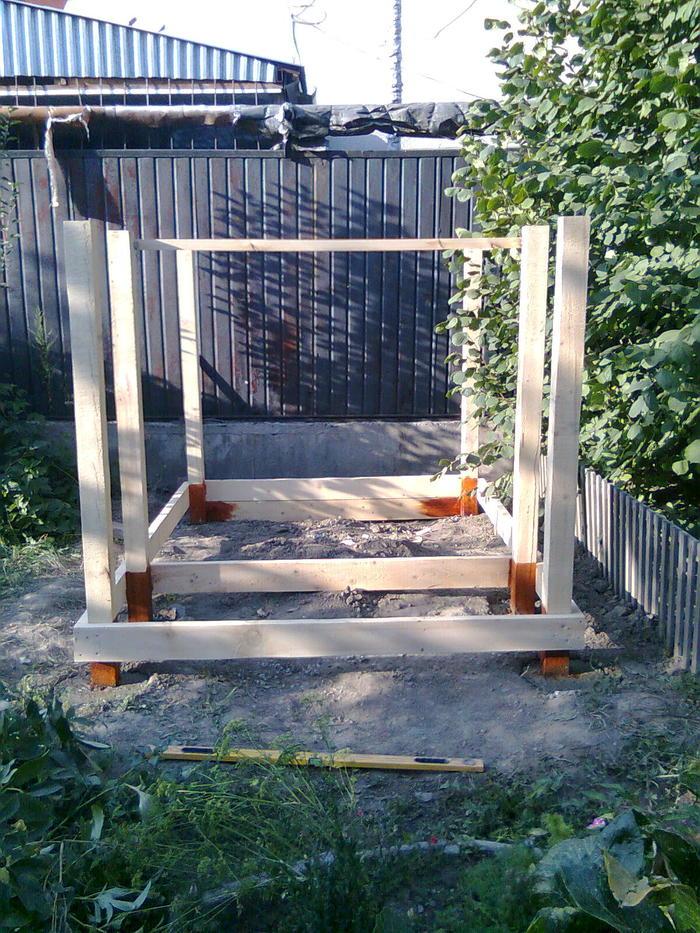 Домик для дочки Строительство, Столярное мастерство, плотничество, длиннопост, рукоделие с процессом