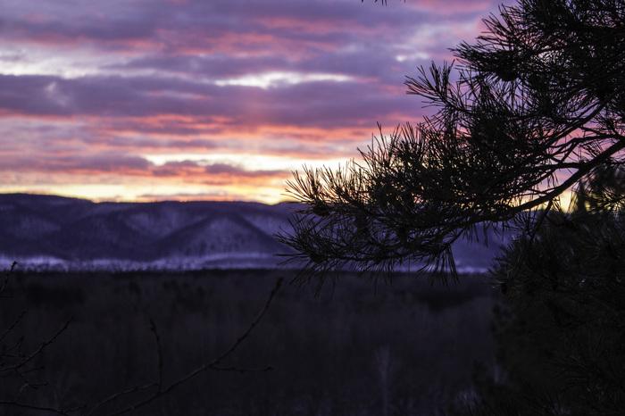 Закат над Волгой Закат, Река Волга, Мастрюковские озера, Ширяево, Самарская область