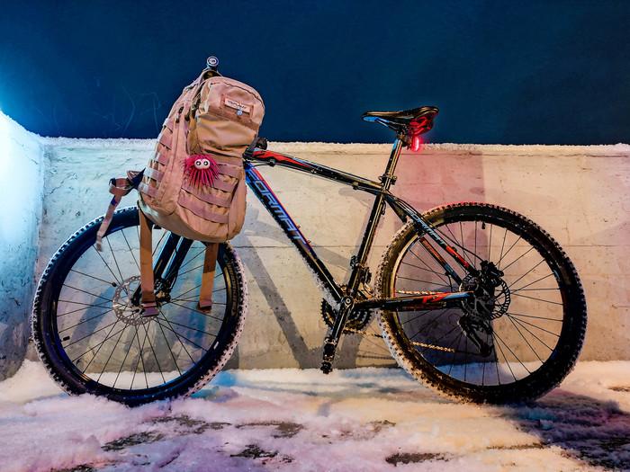 Мои фото с велопрогулок 12.01.2018 Велосипед, Энгельс, Formatbikes, Зима, Мобильная фотография, Honor 6x, Зашакалено, Длиннопост