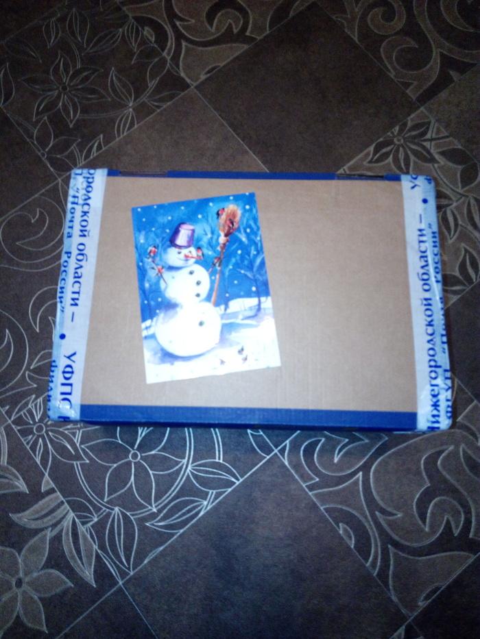Мой староновогодний подарок из Ждановского :) Обмен подарками, Длиннопост, Новый Год, Подарок