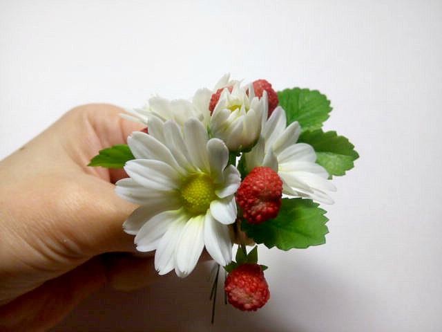 Рукоделие украшение цветы 161