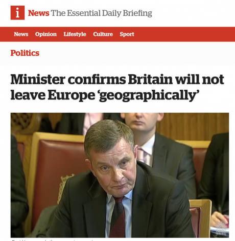 А то некоторые британцы очень переживали Европа, Великобритания, Brexit, Политика