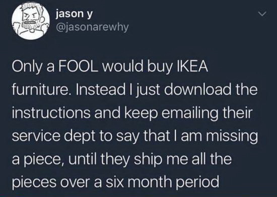 Есть IKEA — есть идея! ИКЕА, Мебель, Предприимчивость
