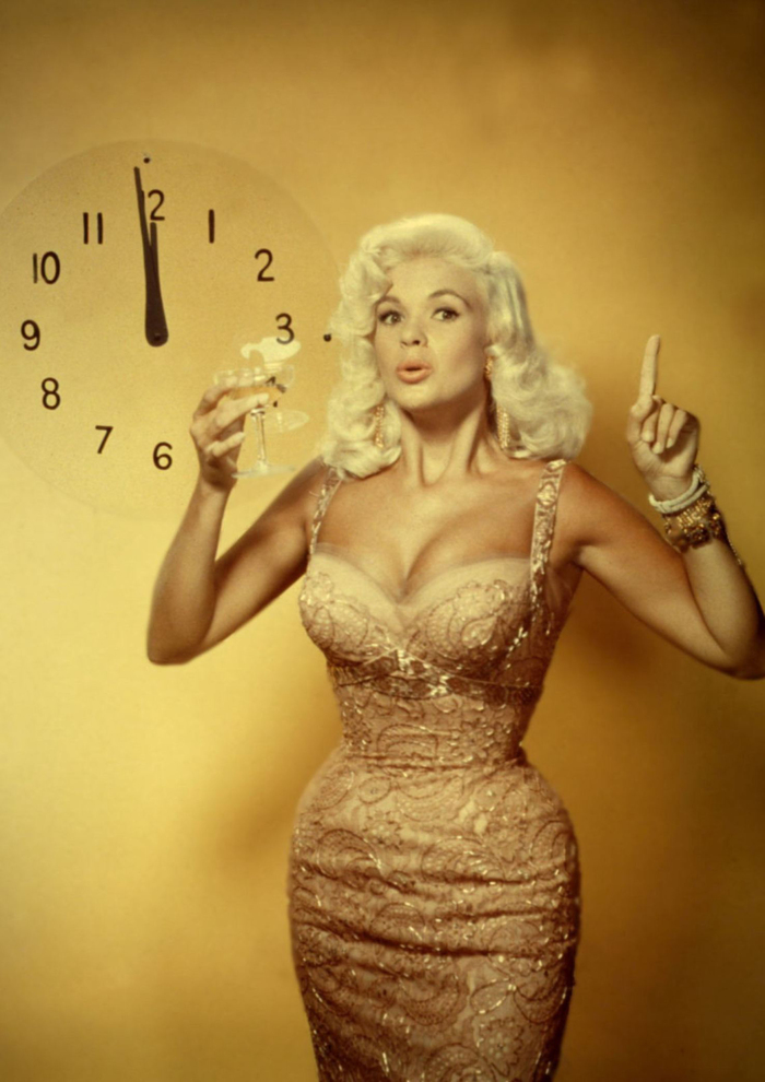 Джейн Мэнсфилд. Ещё одна яркая и недолгая жизнь платиновой блондинки Голливуда 50-х. Длиннопост, Ретро, Биография, 50-е, Блондинка, Актриса