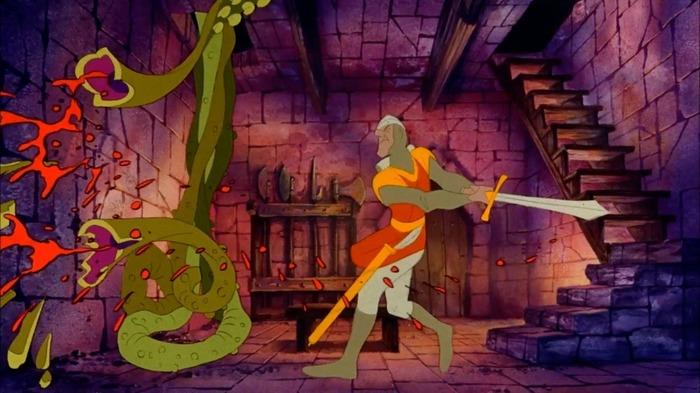 Dragon's Lair Игры, Длинопопост, История, Dragons Lair, 1983, Длиннопост