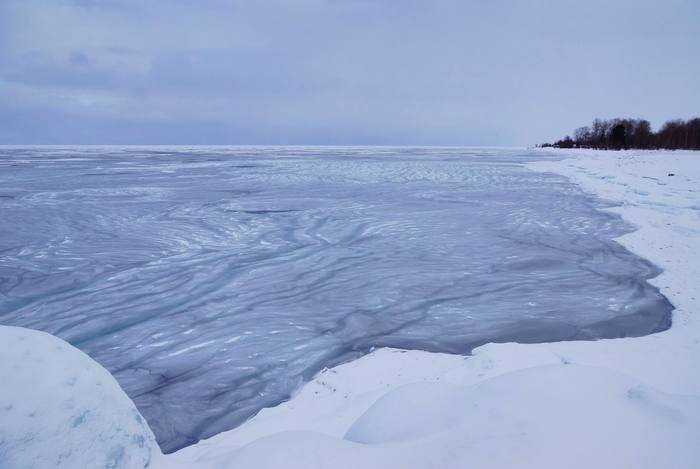Так замерзает Байкал Байкал, Байкальск, Длиннопост