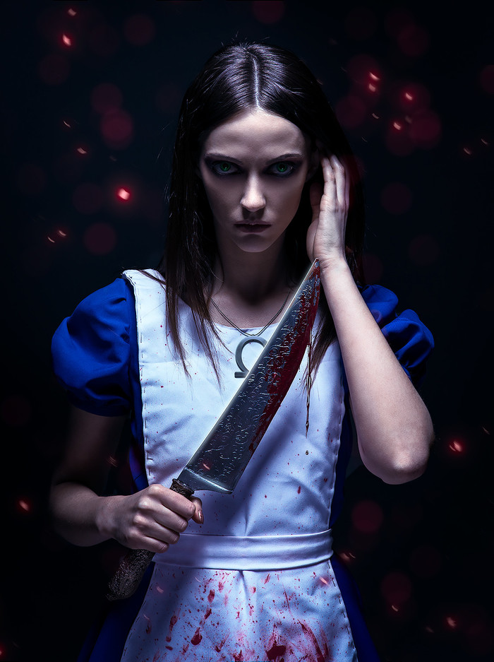 American McGee's Alice cosplay by Ekaterina Mozhina