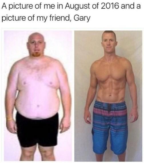 Моя фотография в августе 2016 и фотография моего друга Гарри