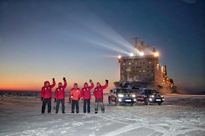"Проект ""Арктика"". Экспедиция на стоке, ч.2. Едут. Экспедиция, Норильск, Диксон, Таймыр, Арктика, Длиннопост, Видео"