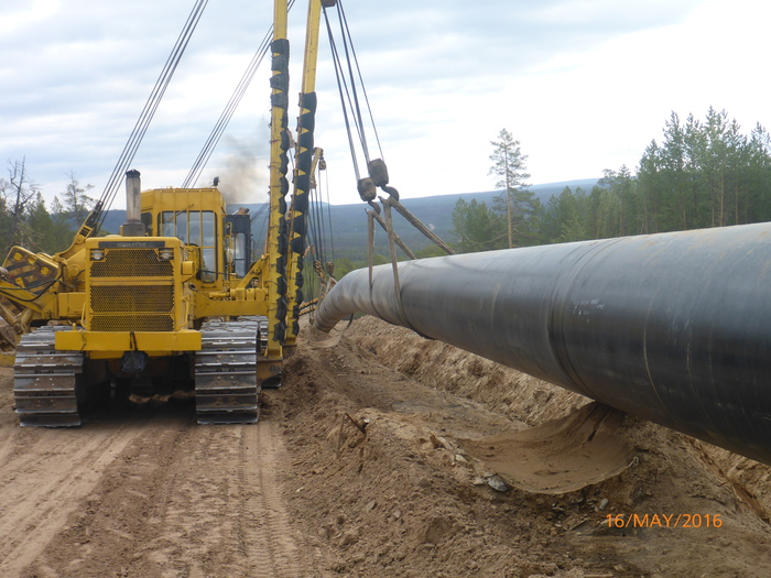 "Работа на  газопроводе ""Сила Сибири"". сила сибири, газопровод, Строительство, века, длиннопост, вахта, моё"