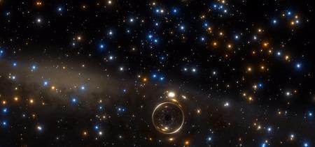Астрономы впервые нашли неактивную черную дыру звездной массы в шаровом скоплении Наука, Новости, Астрономия, Космос, Черная дыра, Звездное скопление, Гифка, Видео