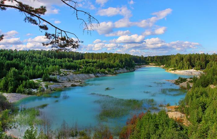 Голубое озеро Южный Урал, Кыштым