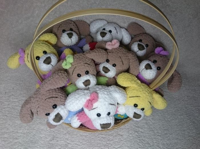 Я вяжу и этим живу) В посте очень много вязаных собачек! Вязание, Рукоделие без процесса, Вязаные игрушки, Год собаки, Ручная работа, Собака, Длиннопост, Этот пост не удался