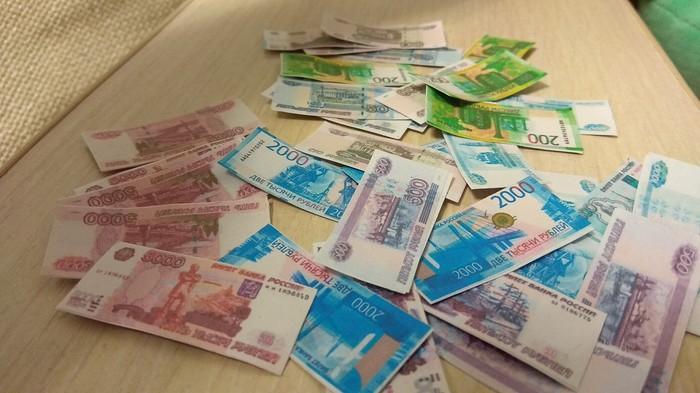 Вместо домика для дочки просто дал ей денег, она счастлива. Деньги, Магазин, Длиннопост