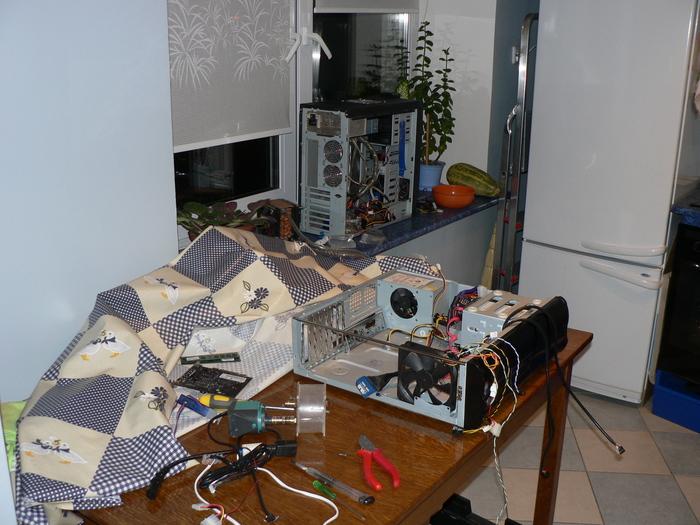 """Когда """"водянки"""" были молодыми Компьютер, Система охлаждения, Колхозинг, Длиннопост"""