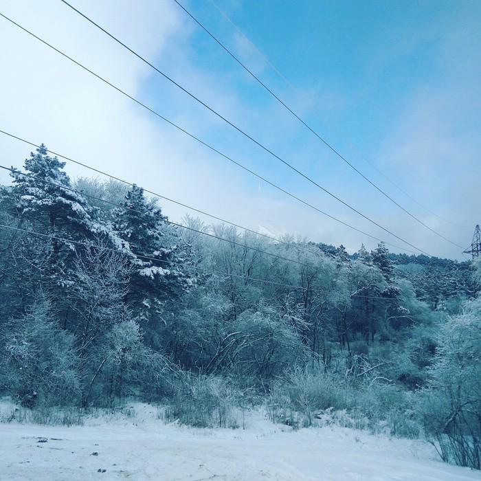 Зима на КМВ Зима, Пятигорск, Железноводск, КМВ, Снег