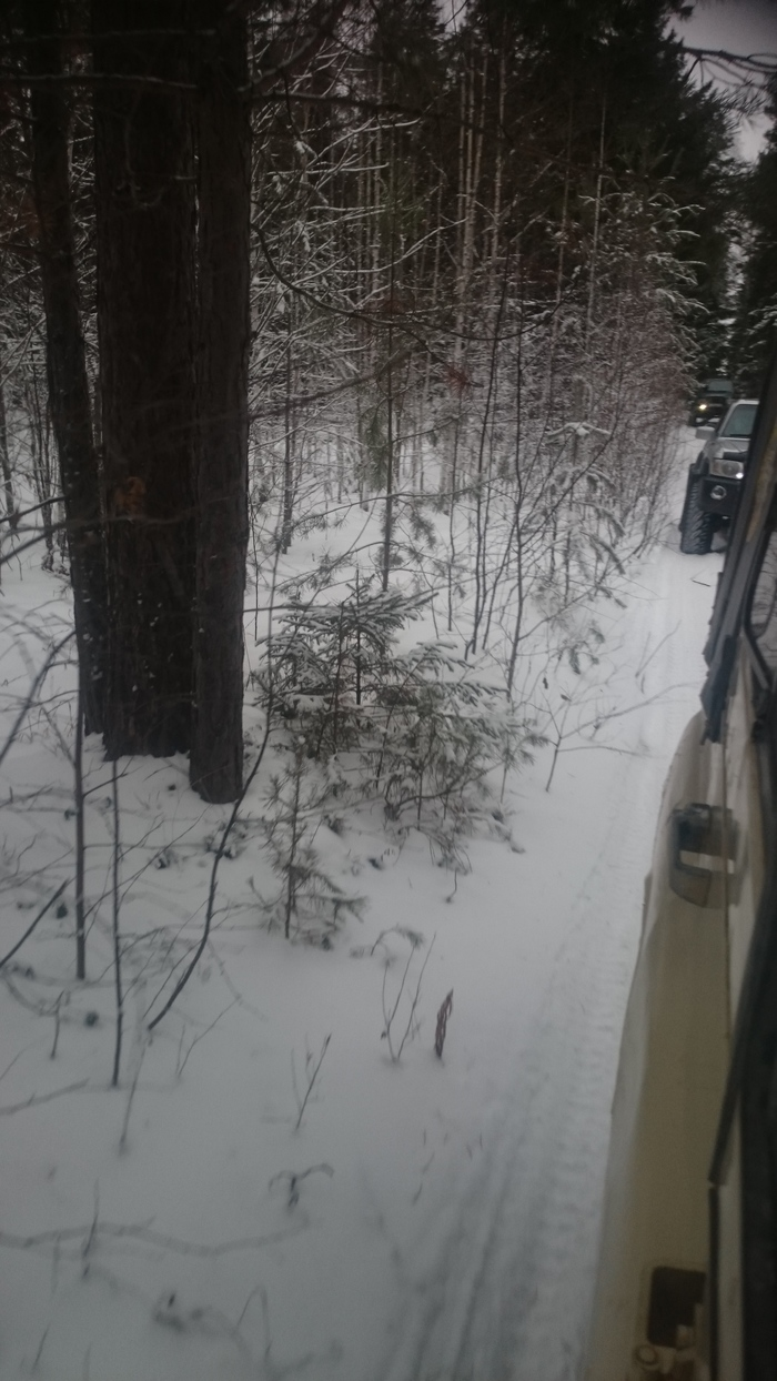 Уральская зима Природа, Покатушка жипов, Длиннопост