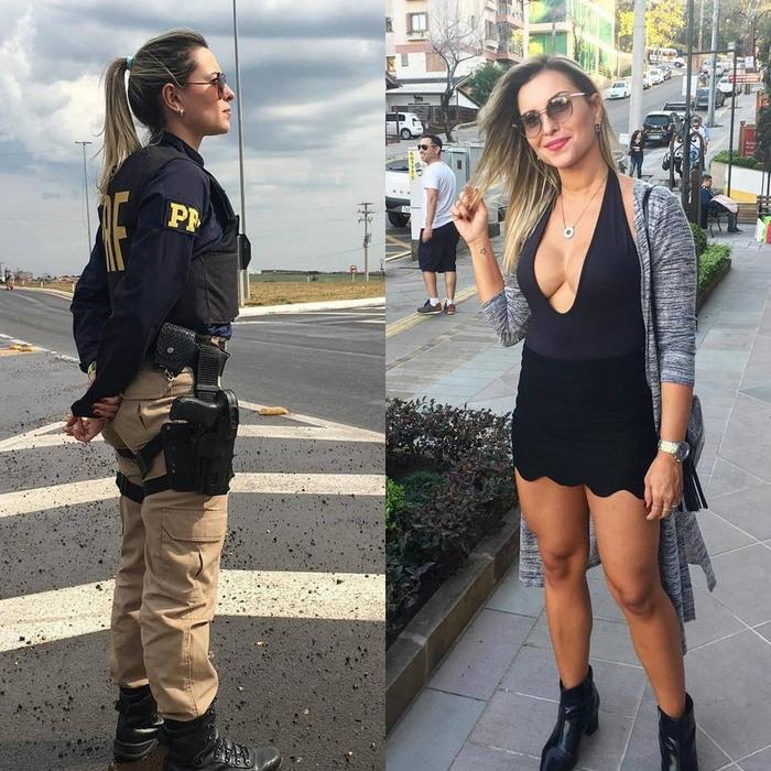 Девушки в форме и без нее. (не только Израильтянки) Военная форма, Спортивные девушки, Девушки и армия, Не на службе, Длиннопост