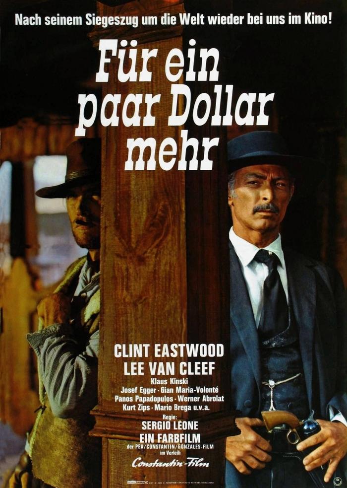 Факты о кино. На несколько долларов больше Фильмы, Вестерн, Клинт Иствуд, Серджио Леоне, Длиннопост