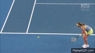 Лёгкое негодование Теннис, Негодование, Гифка