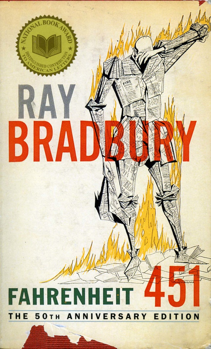 fahrenheit 451 a parable on the evils of censorship Ray bradbury and the real lesson of fahrenheit 451 a story about government censorship refers to fahrenheit 451 as a book about censorship.