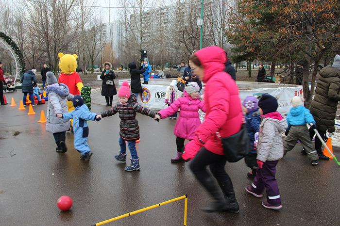 Рождественский спортивный праздник Рождество, Праздники, Дети, Длиннопост