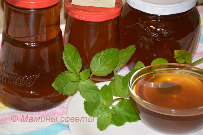 Мятный сироп -  вкуснейшее лакомство для гурмана Мята, Рецепт, Сироп, Гурман, Видео, Длиннопост