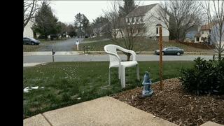Снегопад в Северной Вирджинии - покадровая съемка Снегопад, Снег, Зима, Занесло, Гифка, Видео