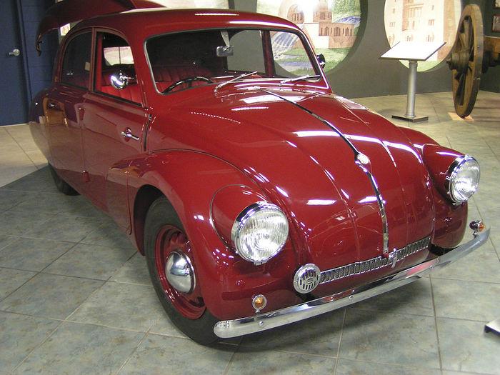Факт. Tatra, Volkswagen, Адольф Гитлер