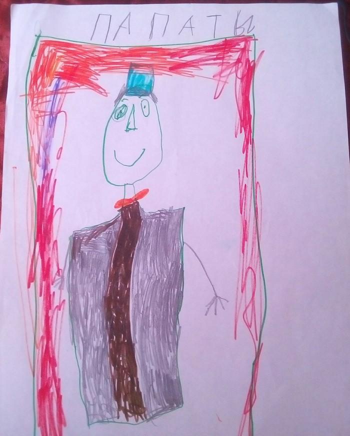 Художество)))))) Детские рисунки, Позитив, Рисунок не мое, Длиннопост