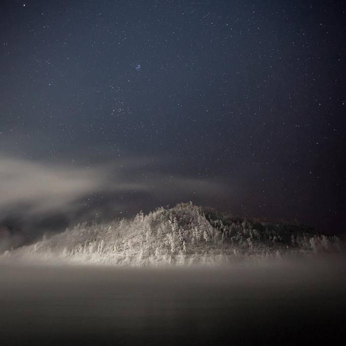 Звездное небо над Буреей Амурская область, Бурея, Талакан, Фотография