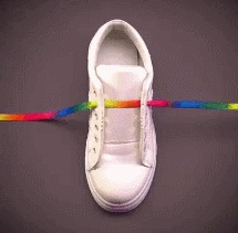 Разные виды шнуровки Обувь, Шнуровка, Интересное, Гифка