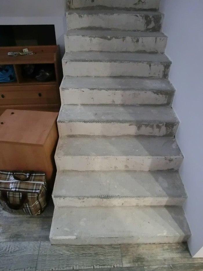Деревянная лестница из бука. Рубрика До/После. Изготовление, Лестница, Дерево, Краснодар, Интерьер, Дизайн, Экострой, Длиннопост