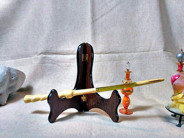 Волшебная палочка «Гарри Поттер и эпоксидная смола» Гарри Поттер, Волшебная палочка, Своими руками, Работа с деревом, Эпоксидная смола, Дерево своими руками, Длиннопост