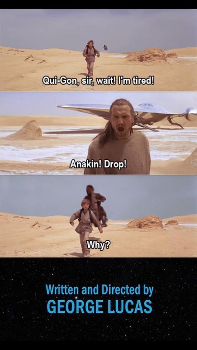 Когда Энекен настоящий ребенок Star Wars, Иной конец, Альтернативная концовка
