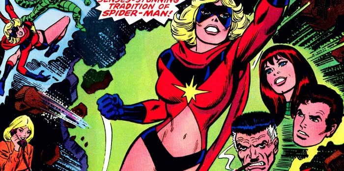 Все костюмы Капитана Марвел, которые она носила в комиксах Marvel Комиксы, Marvel, Статья, Костюм, Длиннопост