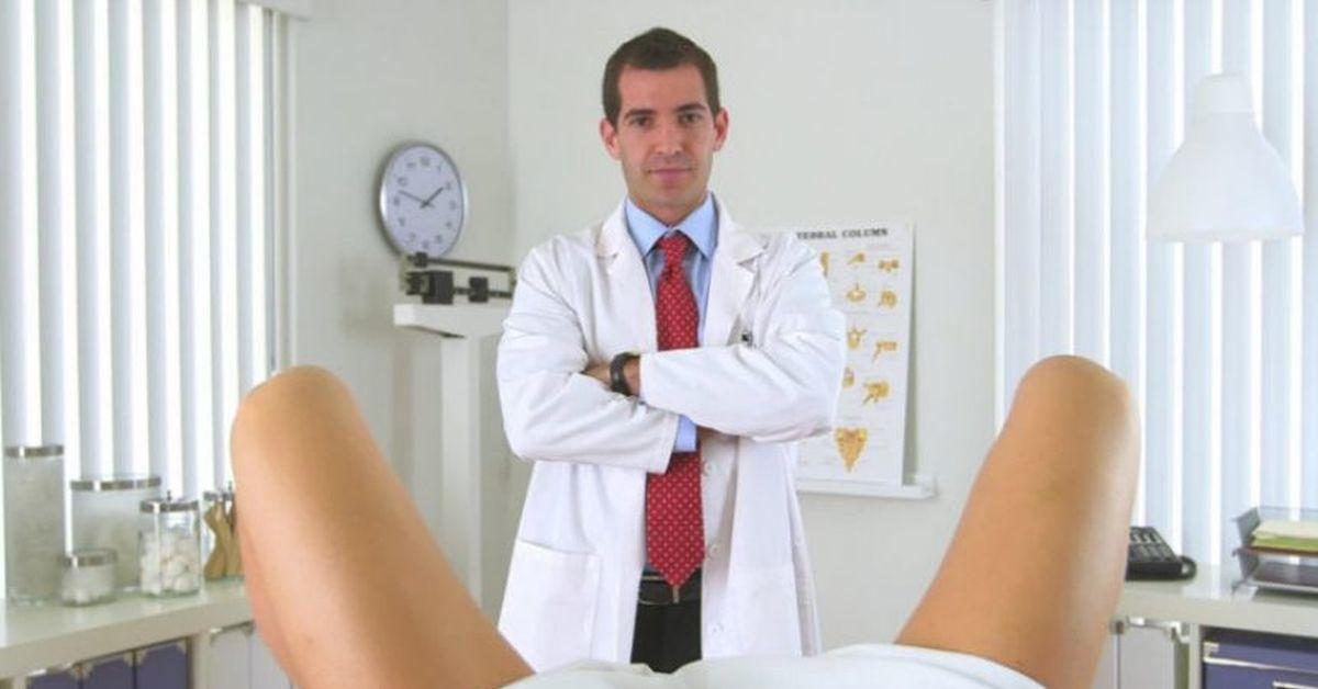 На приеме у гинеколога секс видио руских