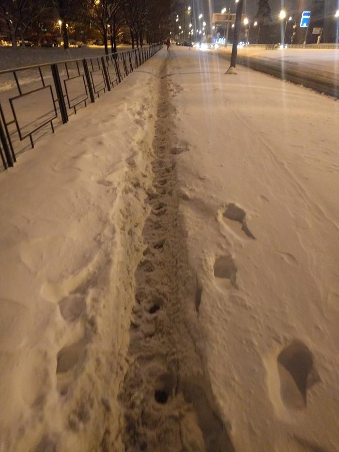 Зимнее дефиле Снег, Жкх