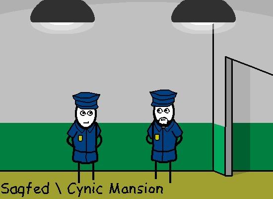Плохохорошее(Анимированный комикс №35) CynicMansion, Комиксы, Гифка, Анимация, Бандиты