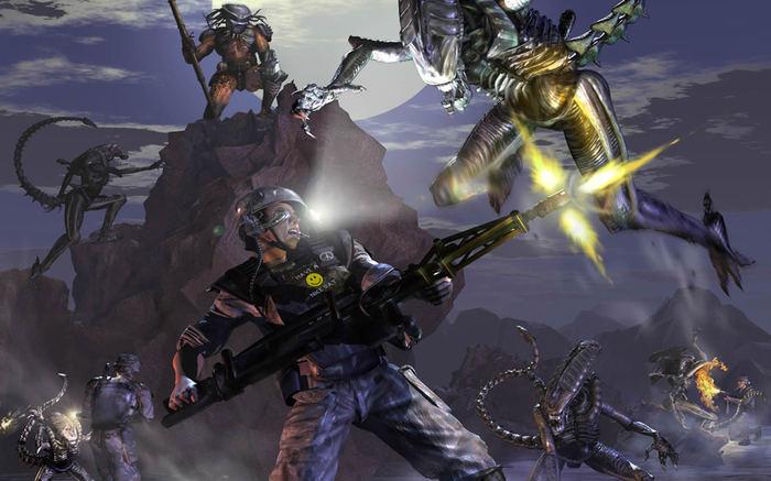 Alien versus Predator 2 - реинкарнация и серверы AvP, Мультиплеер, Чужой против Хищника, Чужой, Хищник, Monolith studios, Видео, Длиннопост