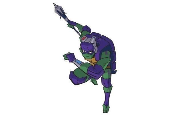 Turtles рафаэль негр