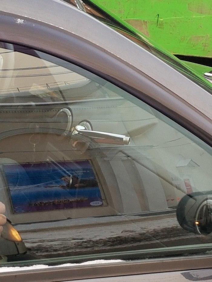 Необходимая доп.опция. Автомобильное сообщество, Тверь, Тюнинг, Renault Logan, Находчивость, Длиннопост