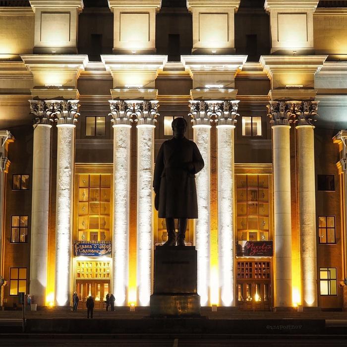 Самарский театр оперы и балета Самара, Начинающий фотограф