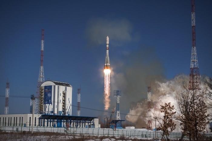 Спутники «Канопус-В» выведены на целевую орбиту Космос, Роскосмос, Россия, Космодром Восточный, Ракета, Спутник, Видео, Длиннопост