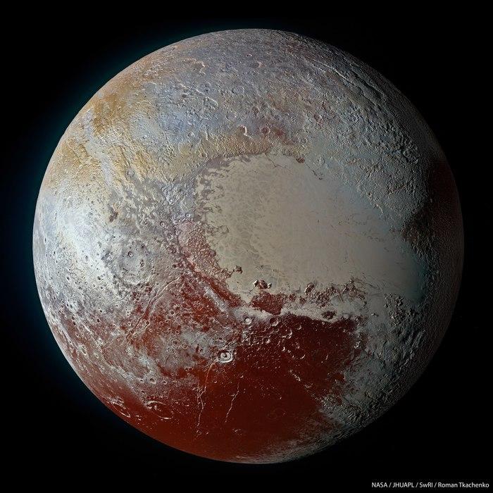 Почему Плутон — не планета? Плутон, Астрономия, Нил Деграсс Тайсон, Космос, Длиннопост